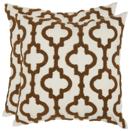 Safavieh Lucy Cotton / Linen Decorative Pillow