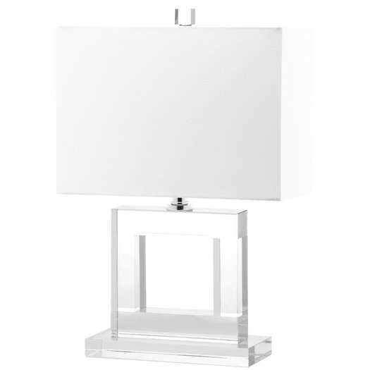 """Safavieh Town 20.5"""" H Table Lamp with Square Shade"""