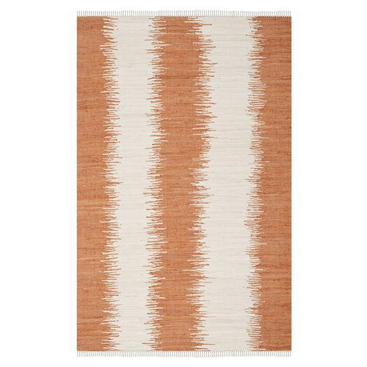 Safavieh Montauk Orange Abstract Rug