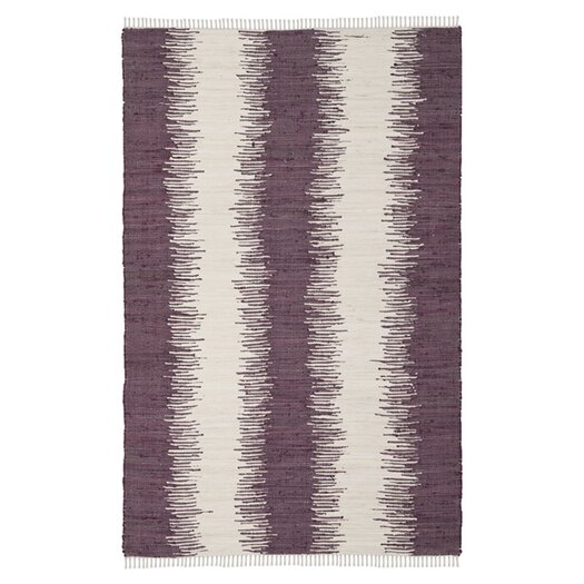 Safavieh Montauk Purple Abstract Rug