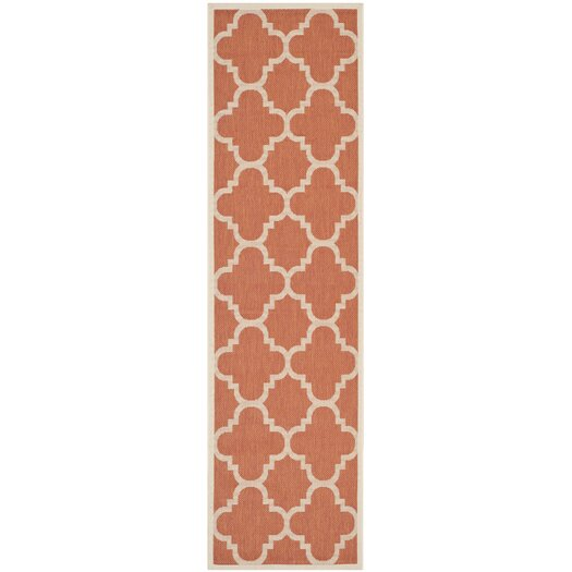 Safavieh Courtyard Terracotta Area Rug