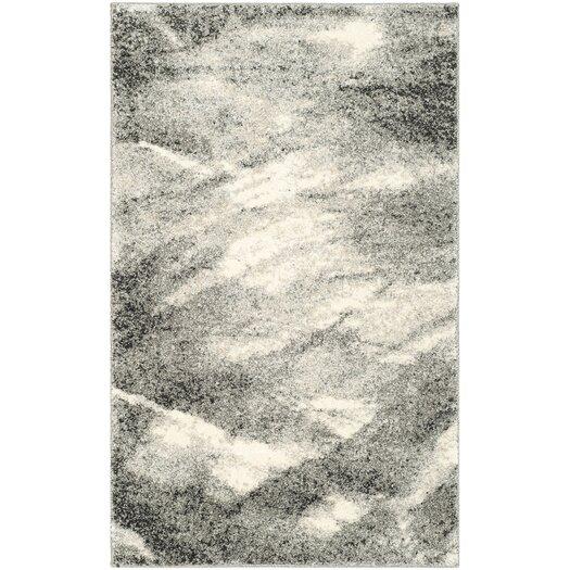 Safavieh Retro Grey & Ivory Area Rug