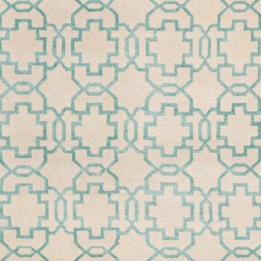 Safavieh Mosaic Cream / Aqua Rug