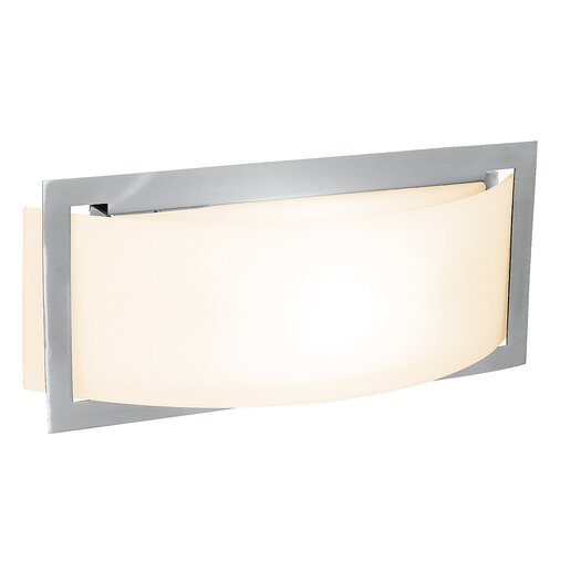 Access Lighting Argon 2 Light Wall Sconce with Opal Glass