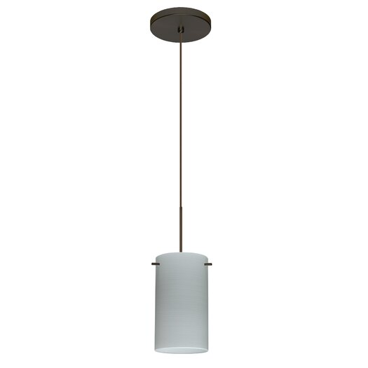 Besa Lighting Stilo 1 Light Mini Pendant