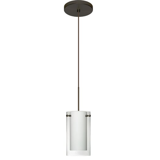 Besa Lighting Pahu 1 Light Mini Pendant