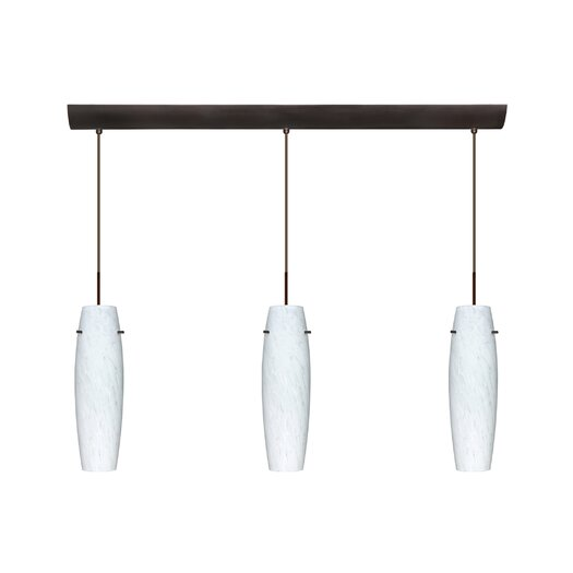 Besa Lighting Suzi 3 Light Mini Pendant