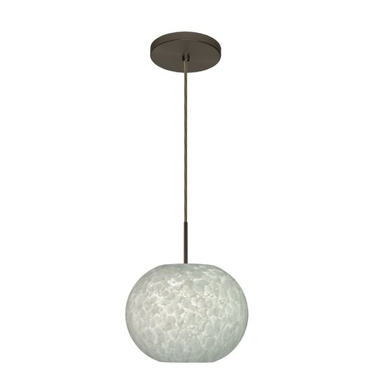 Besa Lighting Luna 1 Light Globe Pendant