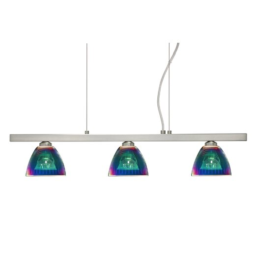 Besa Lighting Divi 3 Light Kitchen Island Pendant