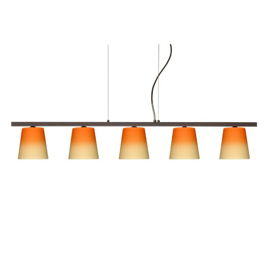 Besa Lighting Canto 5 Light Kitchen Island Pendant