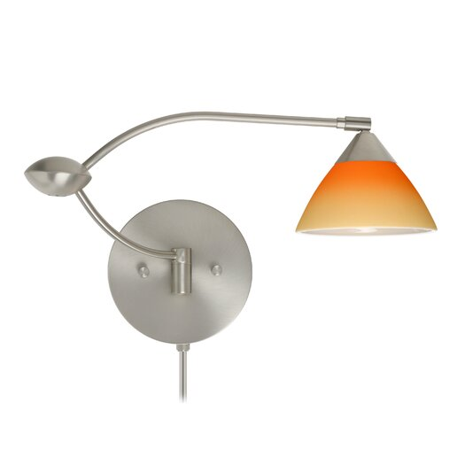 Besa Lighting Domi Double Swing Arm Wall Sconce