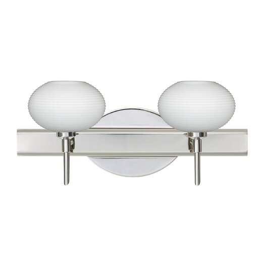 Besa Lighting Lasso 2 Light Bath Vanity Light