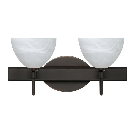 Besa Lighting Brella 2 Light Bath Vanity Light