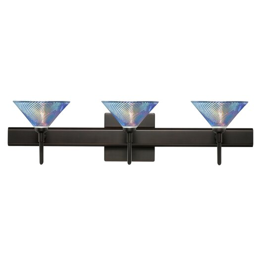 Besa Lighting Kona 3 Light Vanity Light