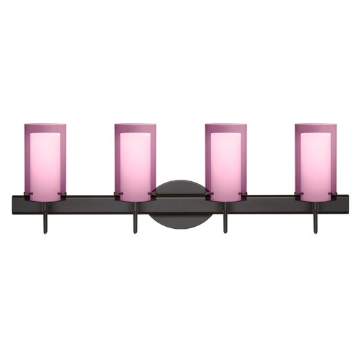 Besa Lighting Pahu 4 Light Vanity Light