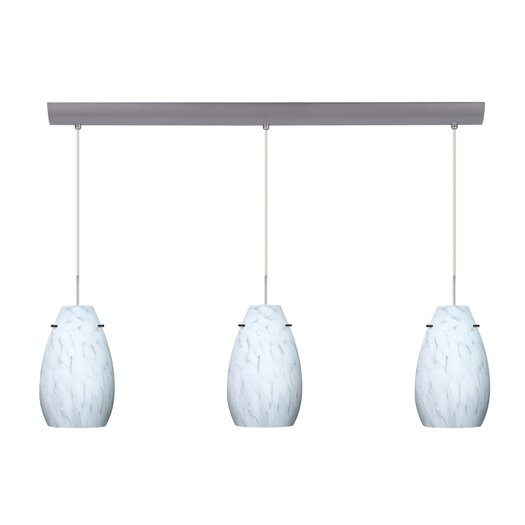 Besa Lighting Pera 3 Light Pendant