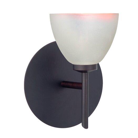 Besa Lighting Divi 1 Light Wall Sconce