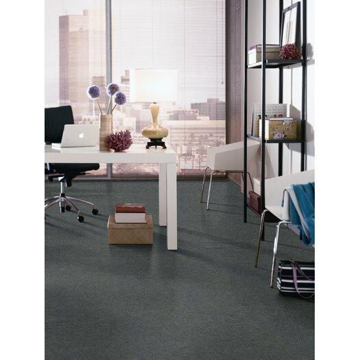 "Mohawk Flooring Aladdin Voltage 24"" x 24"" Carpet Tile in Oceanic"
