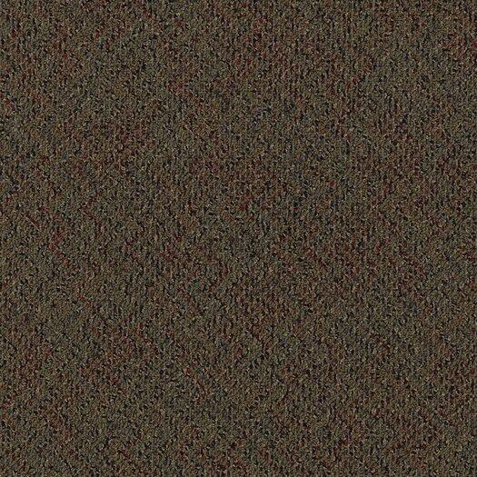 "Mohawk Flooring Aladdin Energized 24"" x 24"" Carpet Tile in Firewall"