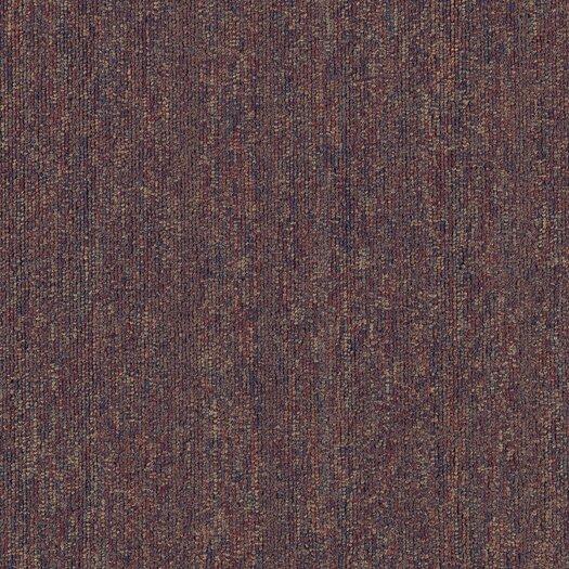 """Mohawk Flooring Aladdin Voltage 24"""" x 24"""" Carpet Tile in Floral"""