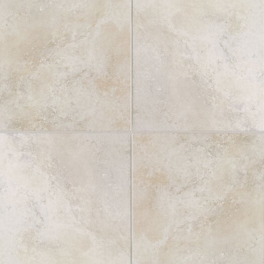 Mohawk Flooring Casa Loma Floor Tile in White Lace