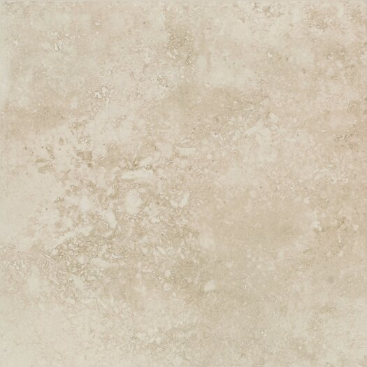 "Mohawk Flooring Mirador 20"" x 20"" Floor Tile in Ivory Cream"