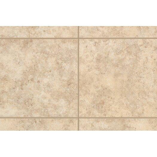 "Mohawk Flooring Bella Rocca 6"" x 6"" Bullnose Tile Trim in Venetian White"
