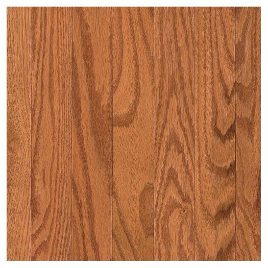 """Mohawk Flooring Lineage Belle Meade 2-1/4"""" Solid Oak Flooring in Butterscotch"""