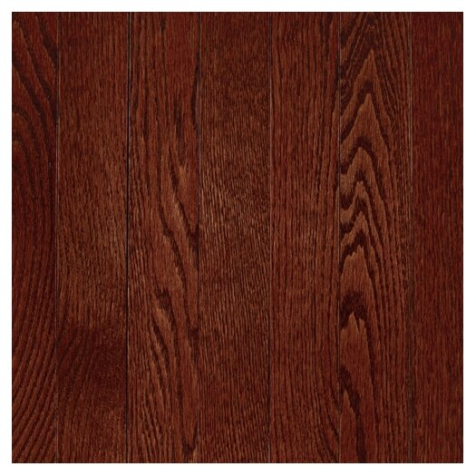 "Mohawk Flooring Lineage 2-1/4"" Solid Oak Flooring in Cherry"