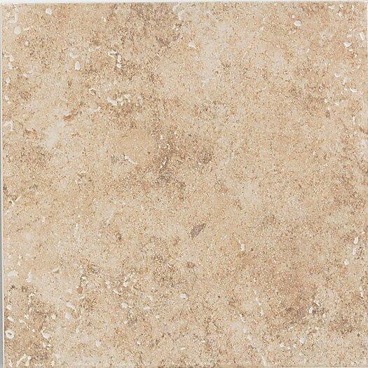 """Mohawk Flooring Bella Rocca 6"""" x 6"""" Wall Tile in Roman Beige"""