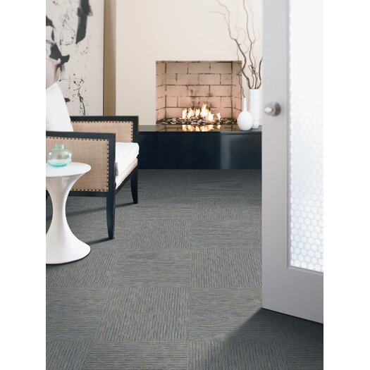 "Mohawk Flooring Aladdin Powered 24"" x 24"" Carpet Tile in Circuit"