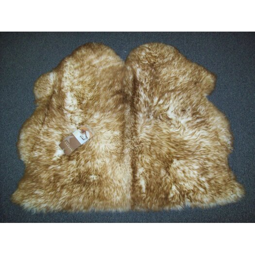 Bowron Sheepskin Rugs Long Wool Gold Star Octo