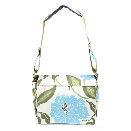 Ju Ju Be Be All Messenger Diaper Bag in Marvelous Mums
