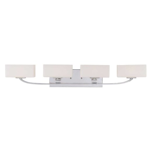 Savoy House Evans 4 Light Bath Vanity Light
