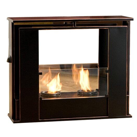 Wildon Home ® Timothy Portable Indoor/ Outdoor Gel Fuel Fireplace