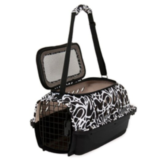 Petmate Curvations Top Load Hybrid Pet Carrier