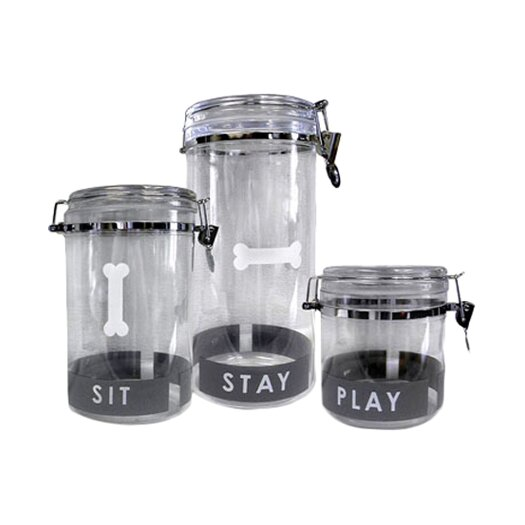 Petmate Designer Airtight Treat Jar