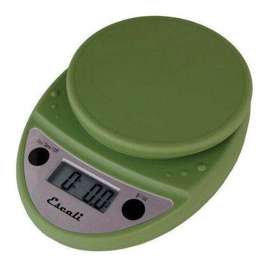 Escali Primo Digital Scale in Terragon Green