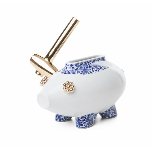 Delft Blue Killing of the Piggy Bank