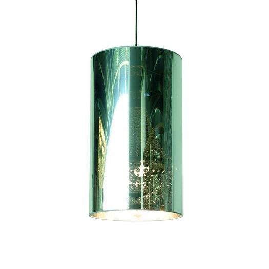 "Moooi 27.55"" Light Shade Metal Drum Candelabra Shade"