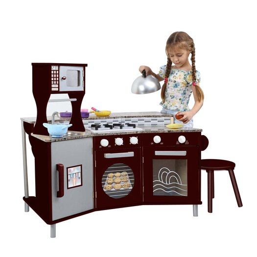 Teamson Kids My Little Chef Deluxe Faux-Granite Kitchen