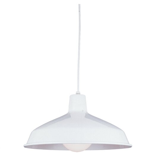 Sea Gull Lighting Single Light Pendant