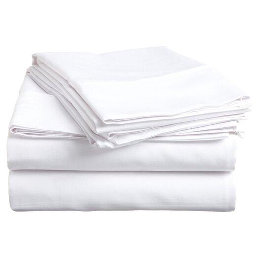 Simple Luxury 400 TC Egyptian Cotton Solid Sheet Set