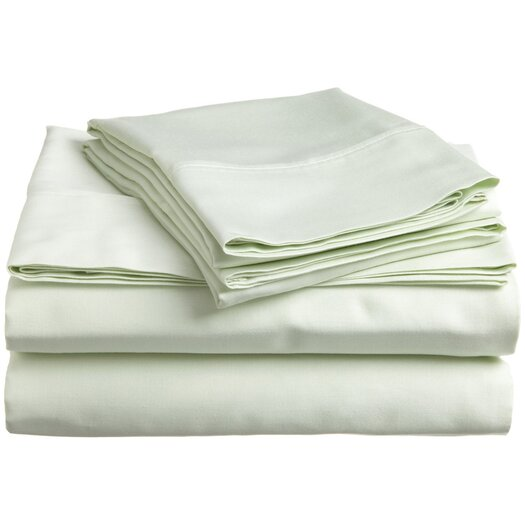 Simple Luxury 300 TC Egyptian Cotton Solid Sheet Set