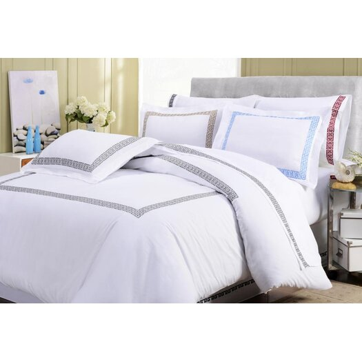 Simple Luxury Kendell Cotton Pillowcase Pair