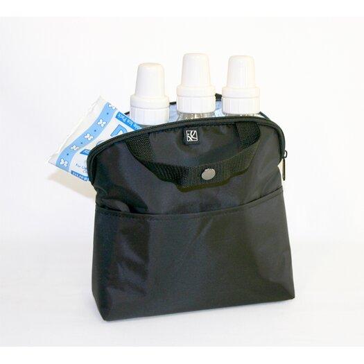 J.L. Childress MaxiCOOL 4-Bottle Cooler in Black