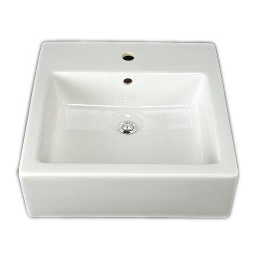 Barclay Patricia Square Vessel Bathroom Sink