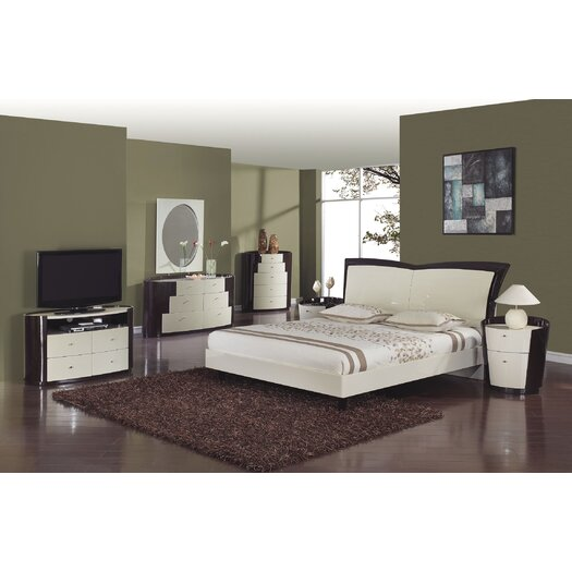 Global Furniture USA New York 2 Drawer Nightstand
