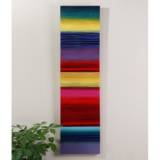 Uttermost Rainbow Bright Original Painting on Canvas