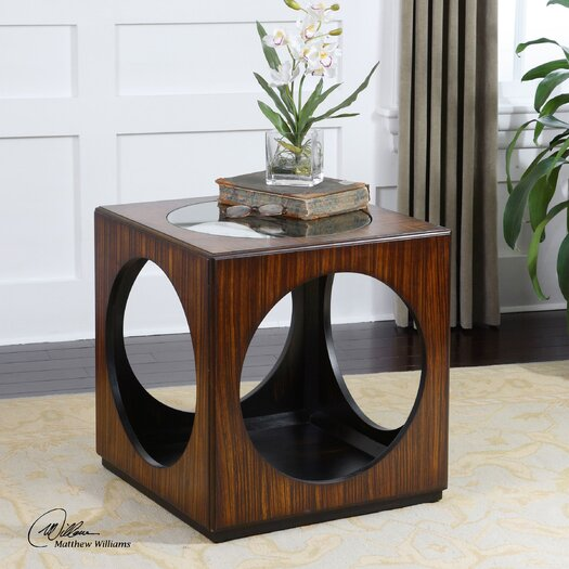 Uttermost Tura End Table
